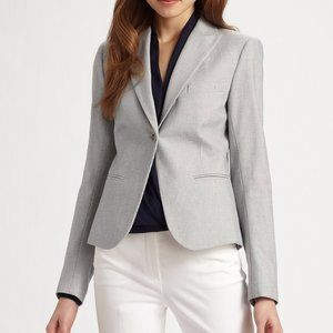Theory Landon Stretch Cotton Blazer